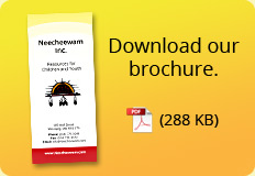 Download Project Neecheewam's Brochure.